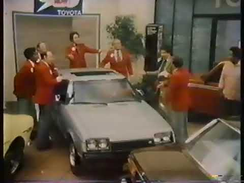 Ronnie Schell 1978 Toyota Commercial