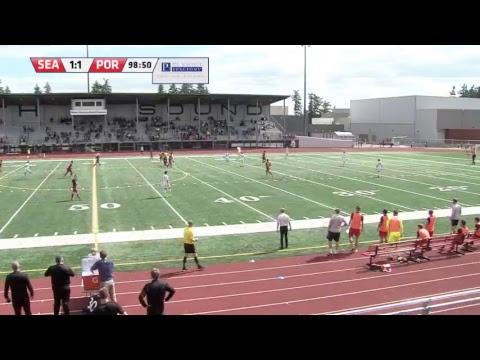 Seattle Sounders U23 vs Portland Timbers U23 at North Thurston HS Stadium