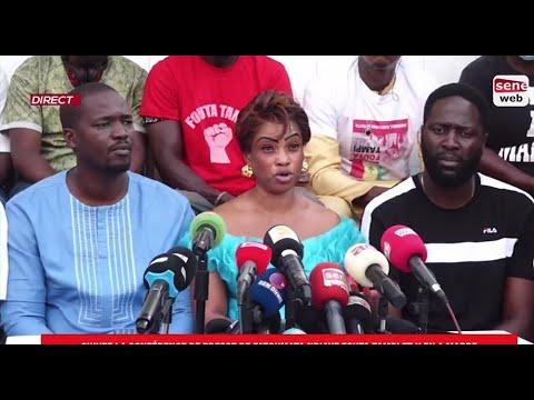 Suivez la conférence de presse de Fatoumata Ndiaye Fouta Tampi et Y en a marre