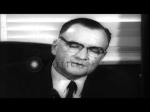 George Wilson Malon, Senator of the United States reports to voters in Nevada, Un...HD Stock Footage