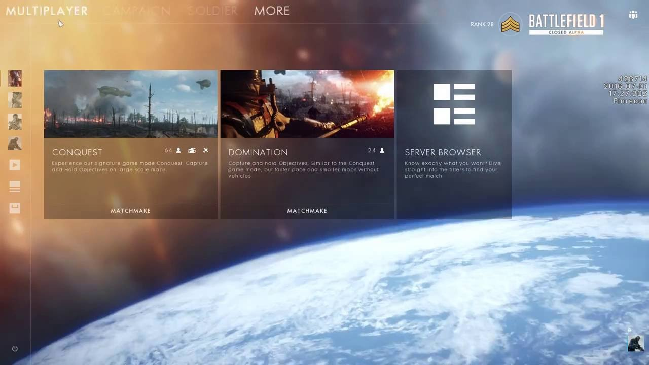 menu lagging battlefield 1 pc