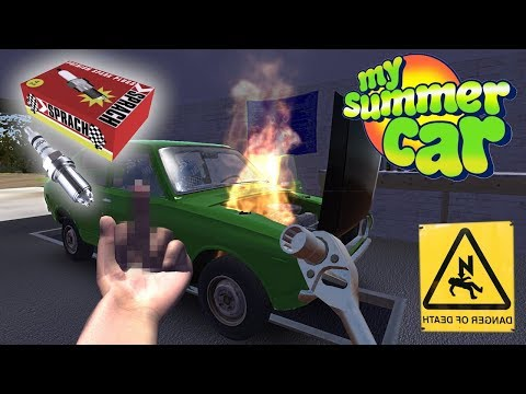Kid Playing With Electrical Gone Wrong | New Wiring And Spark Plugs | My Summer Car Wires Simulator