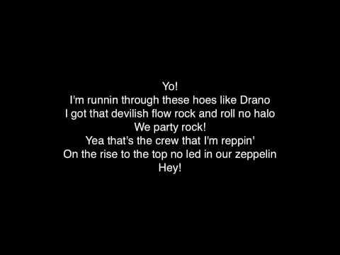 Party Rock Anthem  LMFAO  SO  LYRICS!