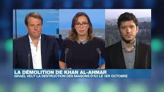 Israël exige la démolition du village bédouin de Khan al-Ahmar