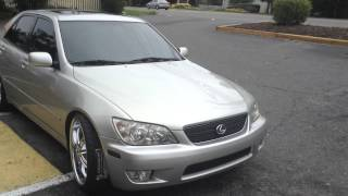 2002 Lexus IS300 stops by Rimtyme in Charlotte for a new set of shoes. Thumbnail