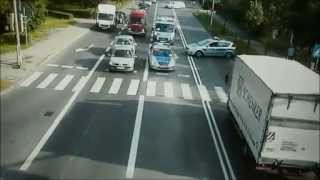 Policyjny pościg za kradzionym motocyklem ulicami Gliwic