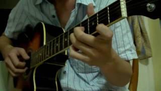 Solitaire - Carpenters - acoustic guitar cover fingerstyle.wmv