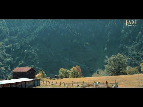 Село Шатили в горах Грузии, почему уходят люди