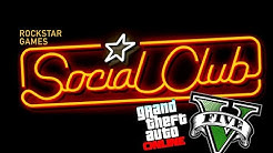 HOW TO SIGN UP IN THE SOCIAL CLUB (GTA 5 GAMEPLAY)