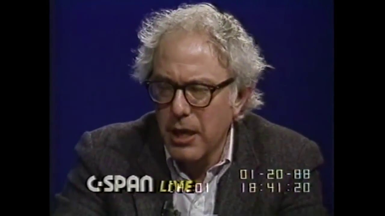 Bernie Sanders Talks About NDP (1988)