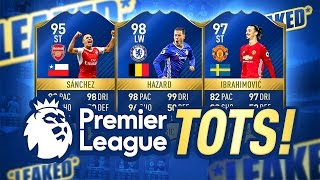 Premier league tots squad & prices!? - fifa 17 tots