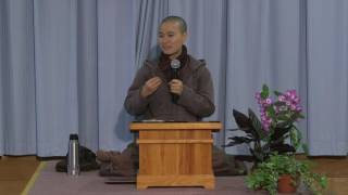 Practicing Right View - Sr. Thuần Khánh, Winter Retreat | 2016.11.24