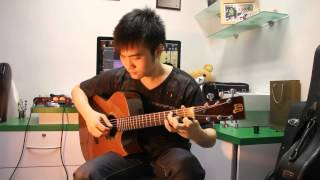 "Fairy Tail - Main Theme ""FingerStyle"" (Steven Law)"