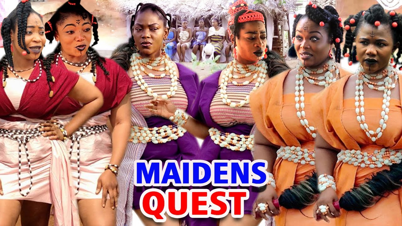 """Download MAIDENS QUEST SEASON 1&2 """"FULL MOVIE"""" - (Zubby Michael) 2020 Latest Nollywood Epic Movie Full HD"""