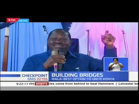 Raila: Handshake was the best move to unite Kenya