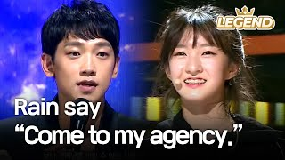"Download Video Youngest contestant's charisma makes Rain say, ""Come to my agency."" [The Unit/2017.12.07] MP3 3GP MP4"
