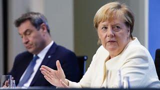 Neue Corona-Maßnahmen: Das komplette Statement von Merkel, Söder und Tschentscher