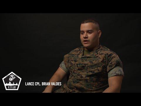 Lance Cpl. Brian Valdes #MarinesRemember911