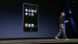 Apple Music Event 2007-The iPod Touch Introduction (Pt.2)