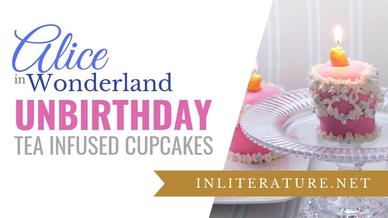 Alice In Wonderland Unbirthday Cake Cupcakes Food In Literature