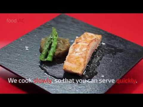 foodVAC Confited Salmon Regeneration