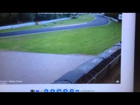 Raw crash footage  Danny Webb