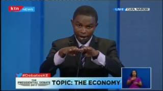 """""""I wont agree with the decapping of interest on loans"""" Running mate Muthiora Kiriara"""