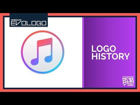 iTunes Logo History | Evologo [Evolution of Logo]