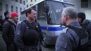 KONWÓJ - na planie thrillera z Januszem Gajosem i Robertem Więckiewiczem