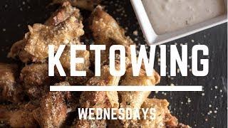 Keto   Wing Wednesday    Garlic Parmesan