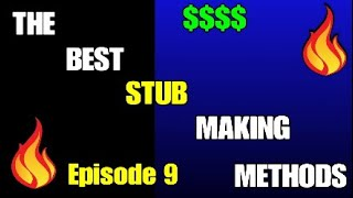 HOW TO MAKE STUBS IN MLB THE SHOW 20!!! Episode 9