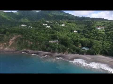 Montserrat Real Estate - Beach House for Sale on Woodlands Beach