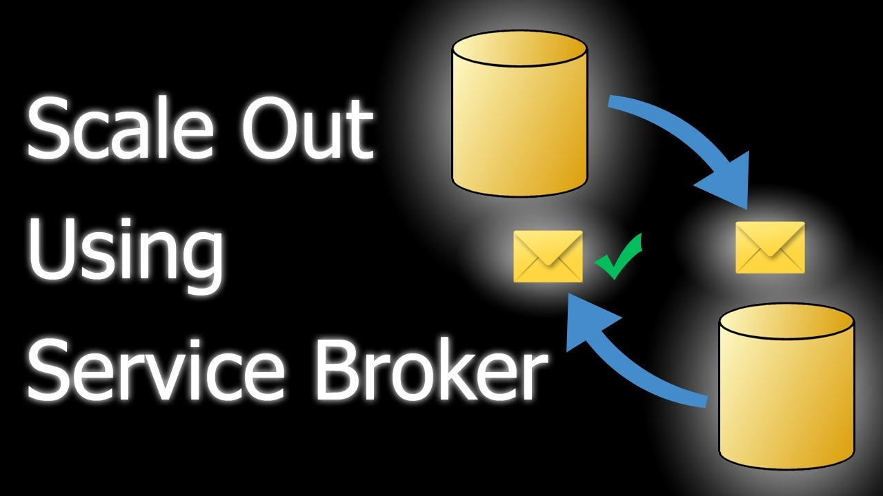 How to use service broker to scale out sql server database for Consul server vs agent