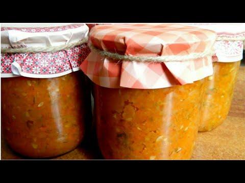 Домашняя Кабачковая Икра - мой рецепт Икра из кабачков на зиму.