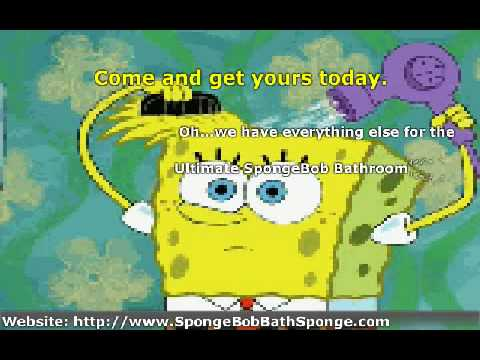 Shower Curtains and Lots of Stuff For Spongebob Kids Bathroom - YouTube
