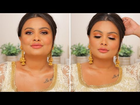 INDIAN WEDDING GUEST MAKEUP TUTORIAL 2019 | BEGINNER FRIENDLY