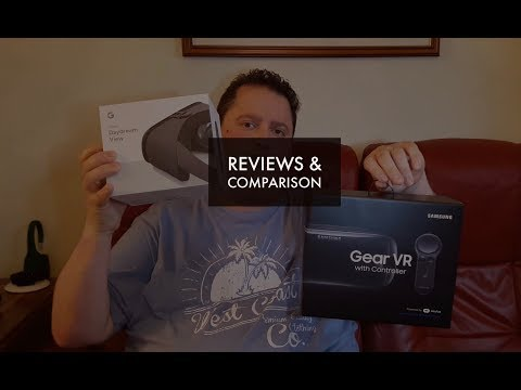 Google Daydream View Review & comparison with Samsung Gear VR