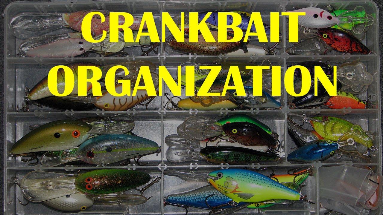 Crankbait Organization Tip Storage