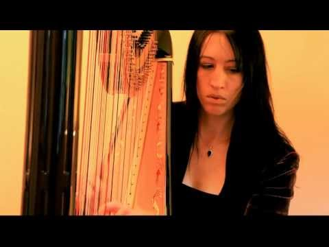 Liath Hollins - What A Wonderful World harp cover