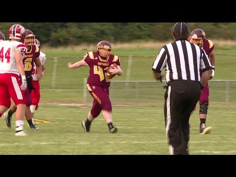 High School Senior With Down Syndrome Who Dreamed Of Playing Football Scores Touchdown