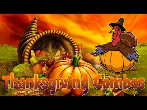 Thanksgiving Combos and (Giveaway) announce