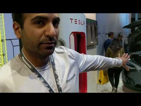 Panasonic 2170 batteries for Tesla