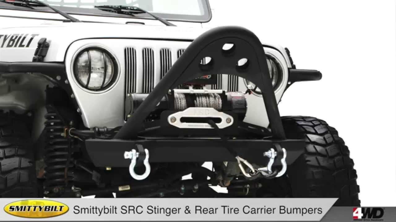 Src Jeep Bumpers Smittybilt Tire Carrier Winch Plate