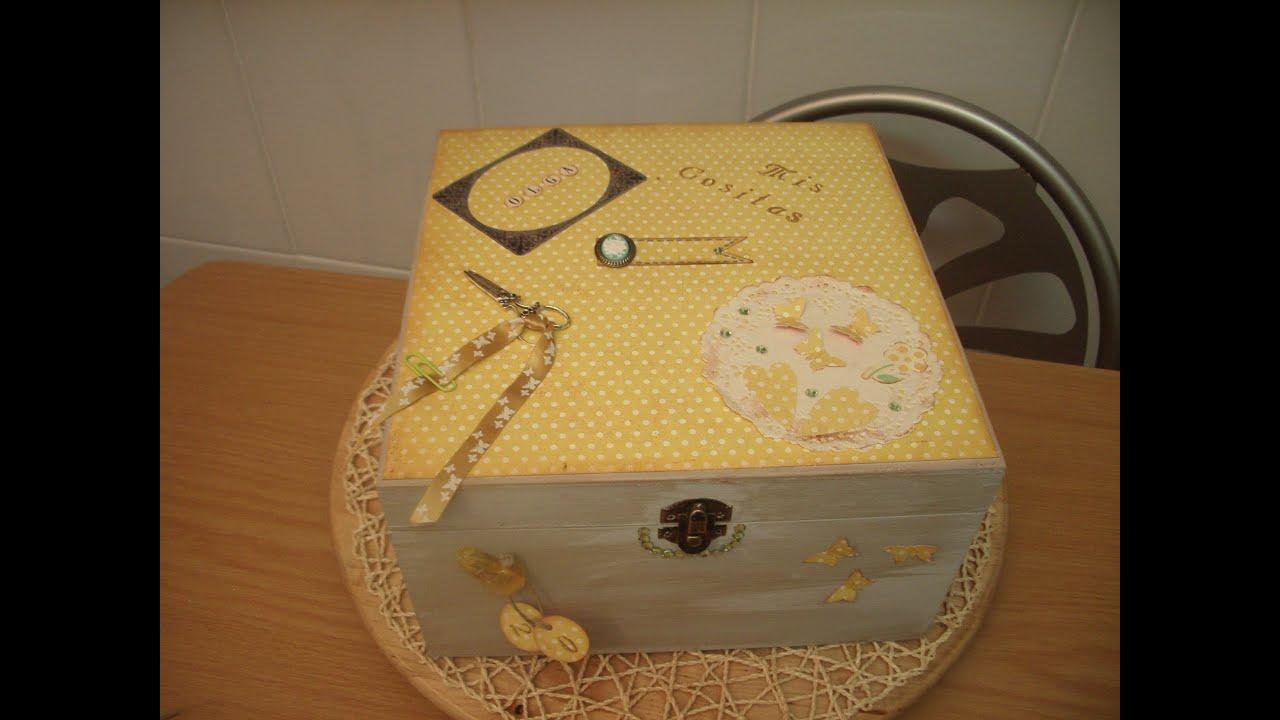 Caja Madera Decorativo