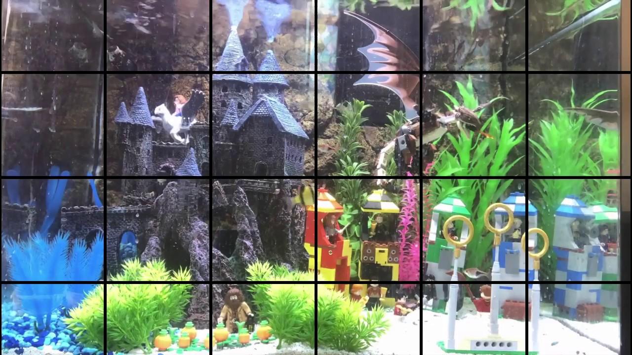 Lego Harry Potter Aquarium Decoration