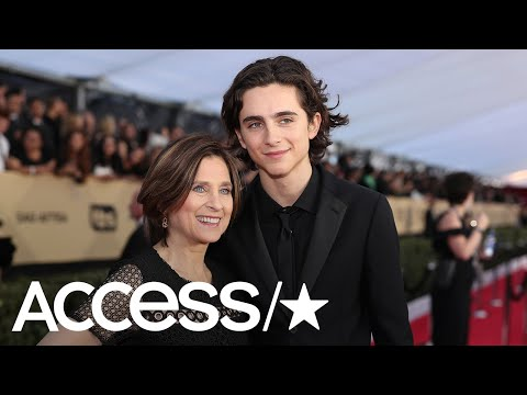 Timothée Chalamet Brought His Mom To The 2018 SAG Awards: See His Sweet Throwback Tribute | Access