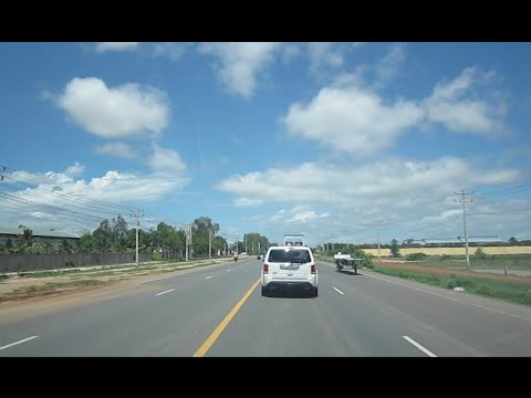 Travel in Cambodia on Russian Boulevard & Road 4 to Sihanoukville