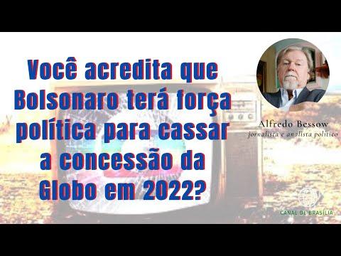 Bolsonaro não vai cassar a concessão da Rede Globo em 2022!