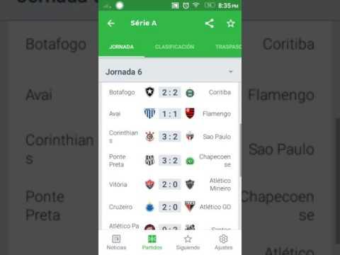 Resultados Y Tabla De Posiciones Fecha 6 Brasileirao 2017