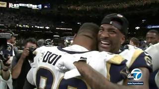 Rams head to Super Bowl after 26-23 win against Saints | ABC7